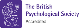 The British Psychological Society Accredited Logo