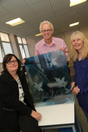 Students' Glass Success Prompts Hospice Commission