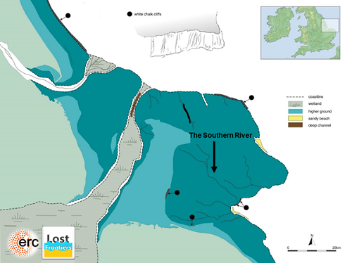 "British ""Atlantis"" discovered in the North Sea BrownBank_fig5_500"