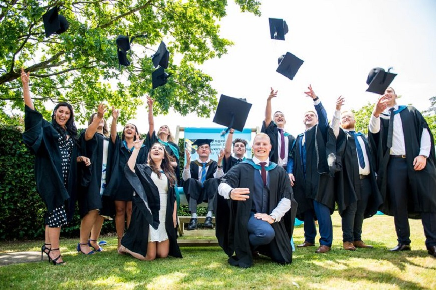 The University of Wales Trinity Saint David has claimed a top-ten ranking for 'teaching quality' in this year's Times and Sunday Times Good University Guide.