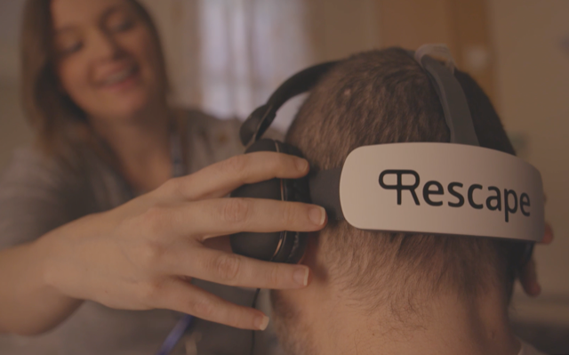 UWTSD's Assistive Technologies Innovation Centre (ATiC) and Cardiff University's Clinical Innovation Accelerator (CIA) are collaborating with Rescape Innovation Ltd to improve the safe deployment of VR for health care staff and patients.