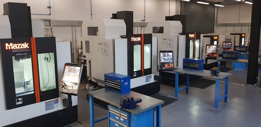 Mazak equipment in the Advanced Manufacturing Skills Academy