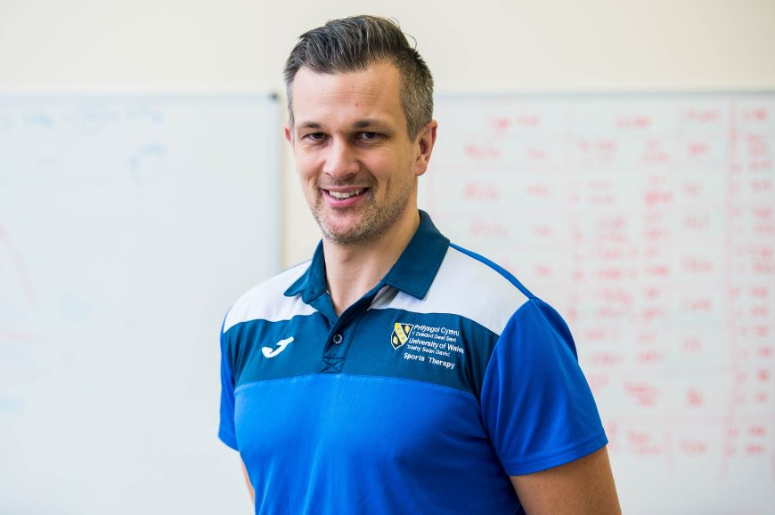 Daniel Martin, a physiotherapist and lecturer on the University of Wales Trinity Saint David's (UWTSD's) Sport and Exercise Therapy degree programme has released a video giving his tips on how to fit physical activity into a busy lifestyle.