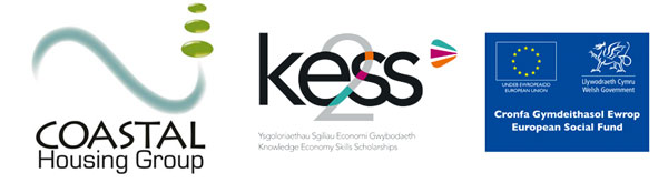 Logos, coastal, European social fund, KESS2