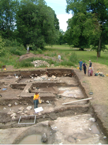 Excavation and planning at Fetternear 2008