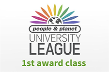 People and Planet | University League - 1st award class